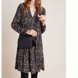 Anthropologie Maeve Amber Tier Tunic dress S, NWT